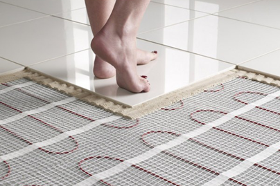 Underfloor heating services
